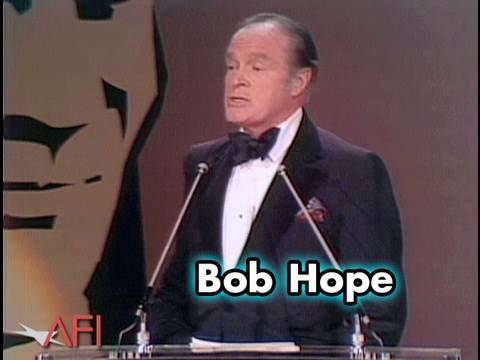 Bob Hope Salutes James Cagney at AFI Life Achievement Award