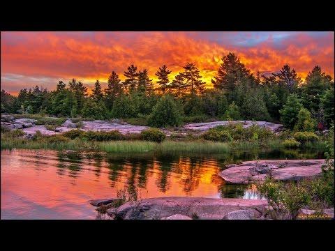 Самая красивая природа и музыка.Поздравление с юбилеем