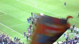 FC Barcelona Champions League final 2015 celebration from stands, cup c1,cup c1 chau au,video cup c1,barcelona
