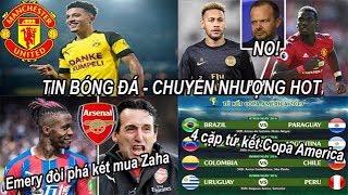 Video Tin bóng đá Chuyển nhượng 25/06 MU từ chối đổi Pogba lấy Neymar, điều kiện để chiêu mộ Sancho #tinmu MP3, 3GP, MP4, WEBM, AVI, FLV Juni 2019