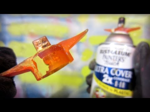 Painters Touch Wing Cap Adapter Test - Rust-Oleum -