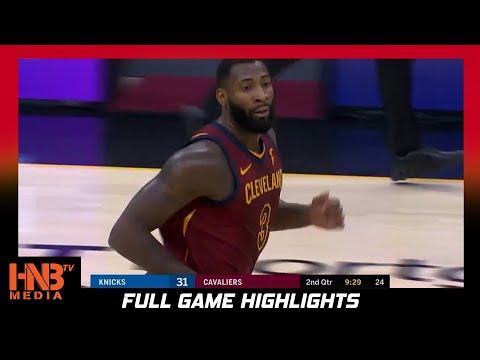 NY Knicks vs Cleveland Cavaliers 1.15.21 | Full Highlights