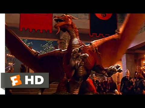 Dragonheart: A New Beginning (2000) - Dragon Fight Scene (10/10) | Movieclips