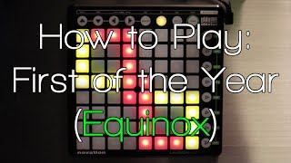 "Support me on Patreon: https://www.patreon.com/SoNevable?ty=hMerry Christmas bros! I hope you're all enjoying your new Launchpads ;) Here's a little video to help everyone out who's downloaded my First of the Year (Equinox) project. I hope you enjoyed this Launchpad demonstration of how to play this song!ABLETON 9 USERS: Select the ""Lights"" track and change the midi channel from Ch1 to Ch 5 and you should get the light effects.New performance video coming out New Years Day ;DProject File: https://www.facebook.com/SoNevable/app_137541772984354Intro - 0:20Intro One Handed - 2:40Intro One Handed With Strings - 5:14Vocals - 6:30Intro with Vocals - 8:09Intro with Vocals and Strings: - 9:33Intro to Piano switch - 10:50Piano - 11:35The Build - 13:50Call 911 - 15:29The Build with Vocals - 15:45The Drop - 16:52"