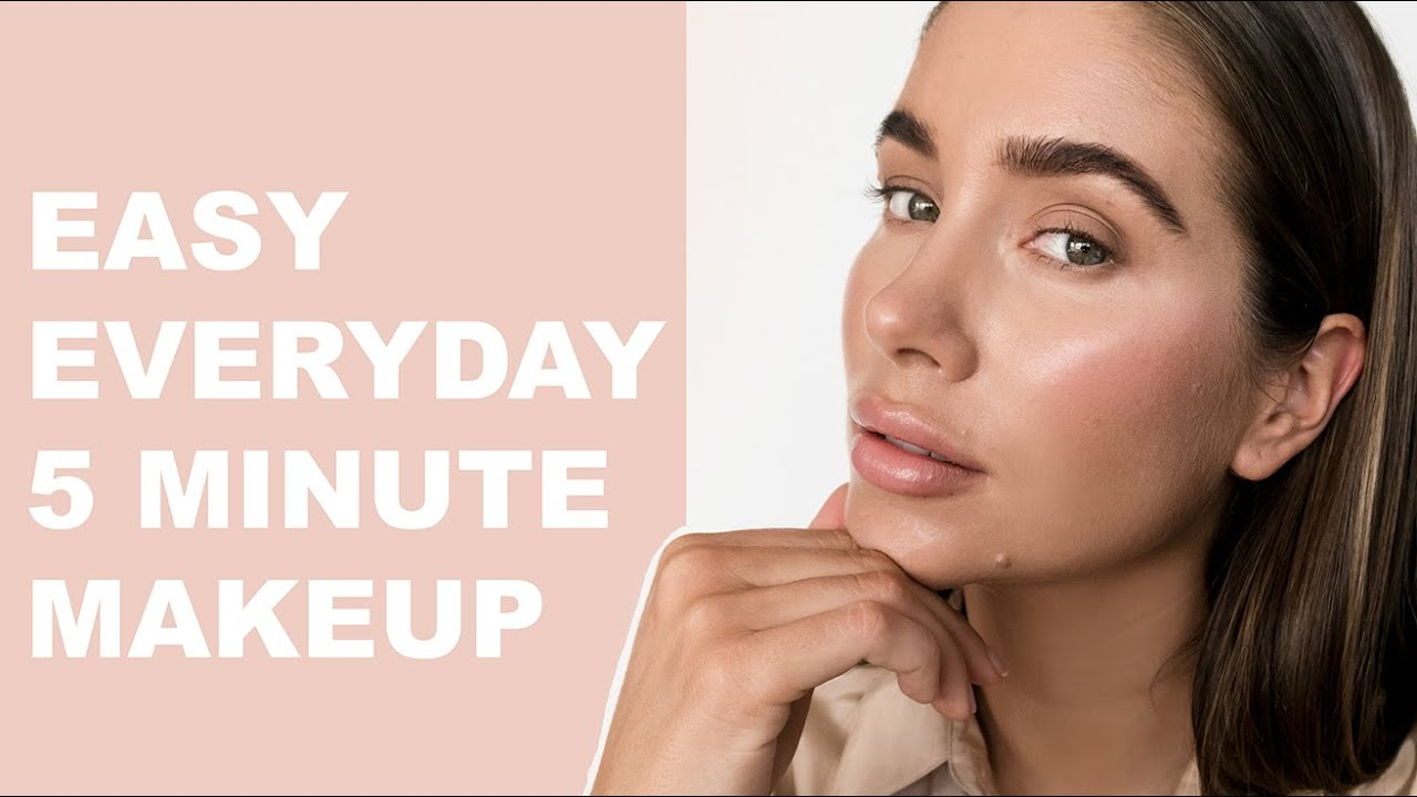 5 MINUTE   Natural everyday makeup