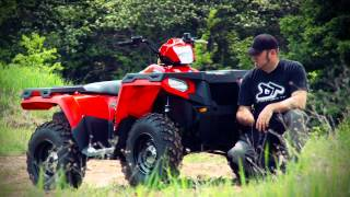1. ATV TEST RIDE: 2011 Polaris Sportsman 400