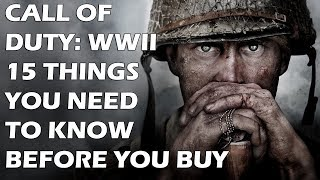 Video 15 Things You NEED To Know Before You Buy Call of Duty: WW2 MP3, 3GP, MP4, WEBM, AVI, FLV Juli 2018