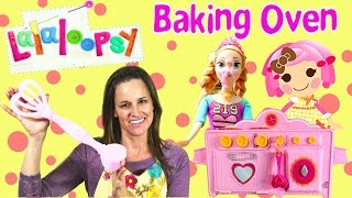 Lalaloopsy Baking Cookies, Cake and sew yummy treats toy oven! Disney Frozen Princess Anna and DCTC team up to start cooking lots of wonderful sweets ...