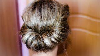 как делать греческую прическу на длинные волосы