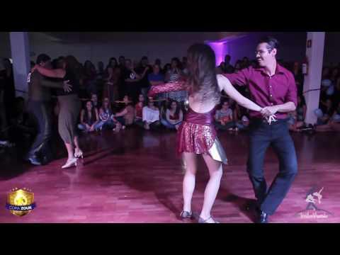 Baila Mundo\u200b - Diego e Juliana X Edgar e Beatriz (3ª Eliminatória Copa Zouk 2016) (видео)
