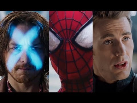 Spider - Trailer Report: 'Spider-Man' Bests 'X-Men' and 'Captain America' ▻ http://www.hollywoodreporter.com/news/trailer-report-spider-man-bests-665066 Follow Me On ...