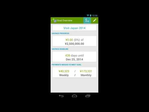 Video of Saving Made Simple - Money App
