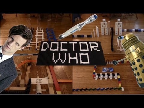 Amazing: Doctor Who Celebrated in Dominoes!