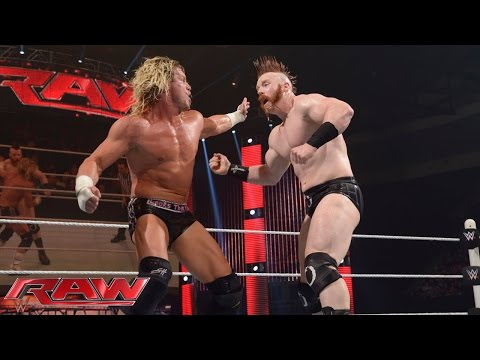 Dolph Ziggler Vs. Sheamus:  Raw, May 25, 2015