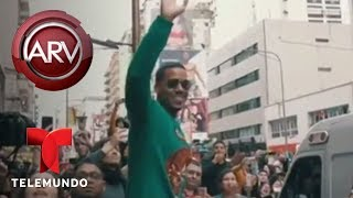 Romeo Santos desató la locura en Argentina | Al Rojo Vivo
