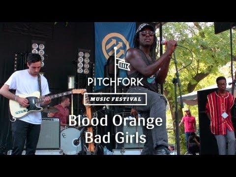 """Blood Orange - """"Bad Girls"""" - Pitchfork Media 2013"""