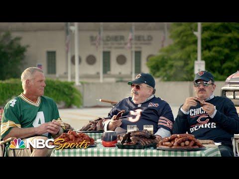 Brett Favre and Bill Swerski's Superfans talk history of Packers vs. Da Bears | NFL | NBC Sports
