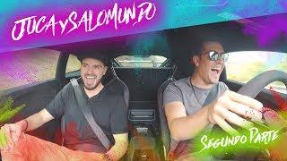 Juca prueba mi AMG, Lamborghini y McLaren! | Salomondrin