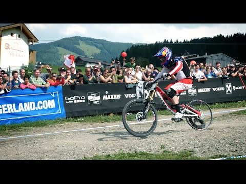 Gwin's Race Run at Leogang