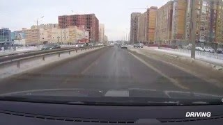 Kazan Russia  city photos : Driving to the center of Kazan 2016 Republic of Tatarstan Russia