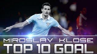 Die 10 schönsten Treffer des Miroslav Klose