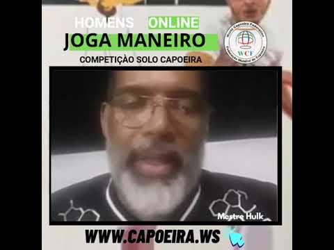 Mestre Hulk JOGA MANEIRO