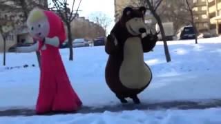 Чеченский вариант Маши и Медведя
