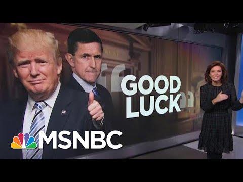 President Donald Trump Wishes Michael Flynn 'Good Luck' Before Sentencing | Velshi & Ruhle | MSNBC