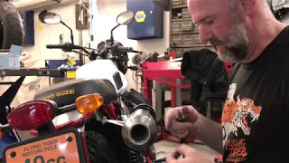 4. Uncorked: Moto Guzzi Stornello exhaust modification