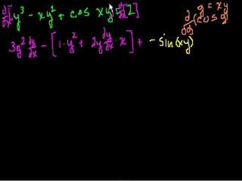 Implicit Differentiation (part 2)