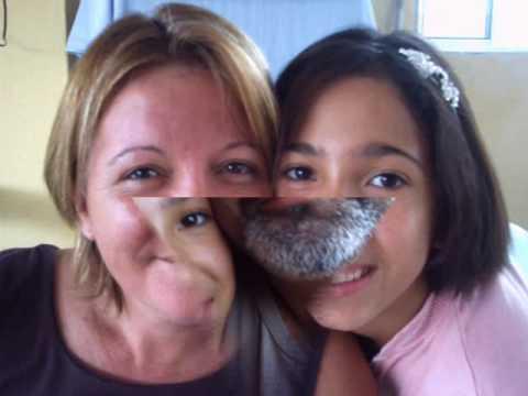 Nicolle e familia (видео)