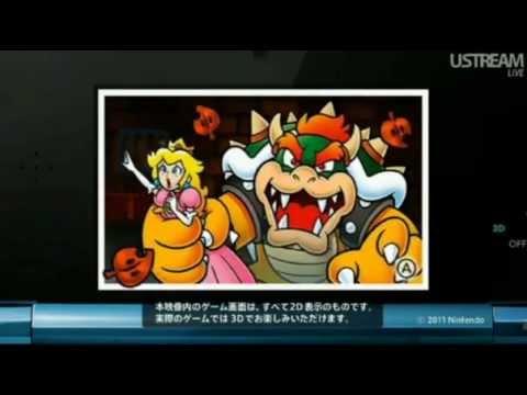 Conférence Nintendo Direct du 21 octobre 2011 de