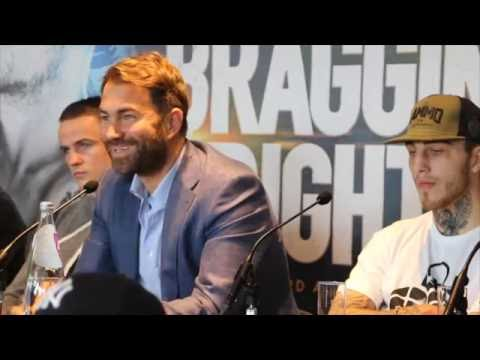 Frankie Gavin v Sam Eggington press conference