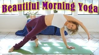 Beautiful Morning Yoga Stretch For Beginners! 20 Minute Energy & Flexibility Workout Routine - YouTube