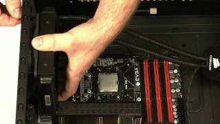 How to install the Corsair Cooling™ Hydro Series H50 CPU cooler