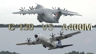 Video Hercules C-130 vs Airbus A400M Which one Better ? MP3, 3GP, MP4, WEBM, AVI, FLV Maret 2019