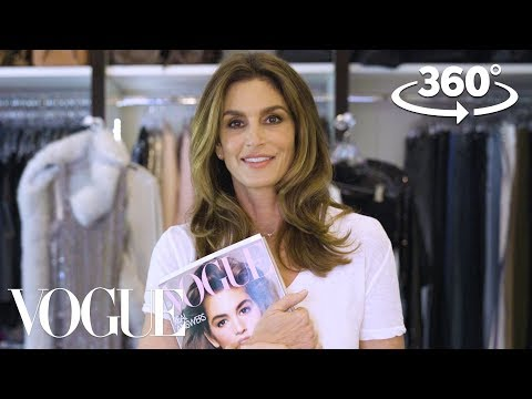 Cindy Crawford Takes You on a 360° Tour of Her Closet | Supermodel Closets | Vogue