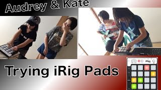 We tried using iRig Pads with Groovemaker 2 by IK Multimedia. We love it. Thanks so much for watching!!!IK Multimedia, iRig PadsとGroovemaker2を使って遊んでみました。めちゃ楽しかった!Thanks so much for watching!!!Gear -IK Multimedia iRig Pads-Epiphone Tak Matsumoto DC Electric Guitar-iPad-Groovemaker 2http://www.ikmultimedia.com/