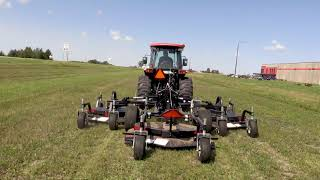 8. Quick Attach® Quick Finish Flex™ Tractor Flex Wing Finishing Mower Attachment