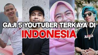 Video INILAH GAJI 5 YOUTUBER TERKAYA DI INDONESIA!!! MP3, 3GP, MP4, WEBM, AVI, FLV Mei 2019