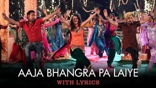 Sing along to the tunes of 'Aaja Bhangra Pa Laiye' a fun filled punjabi dance track from Saadi Love Story sung by sung by Diljit...
