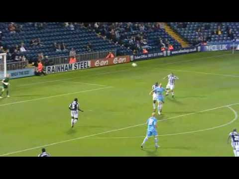 WBA vs Rotherham United 2009