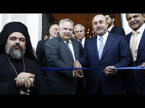 Εγκαινιάστηκε το Ελληνικό Προξενείο στη Σμύρνη