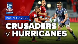 Crusaders v Hurricanes Rd.7 2020 Super rugby Aotearoa video highlights