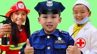 Video Jobs Career & Professions Song   Wendy & Friends Pretend Play Nursery Rhymes Kids Songs MP3, 3GP, MP4, WEBM, AVI, FLV Juni 2019