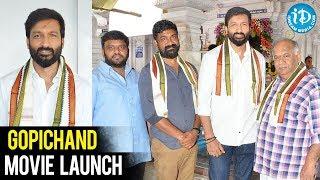 Gopichand New Movie Launch || BVSN prasad || Manisharma || SVCC 26th Movie