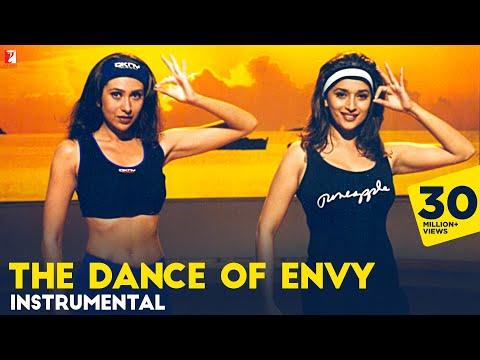 The Dance Of Envy (Instrumental) | Dil To Pagal Hai | Madhuri Dixit | Karisma Kapoor