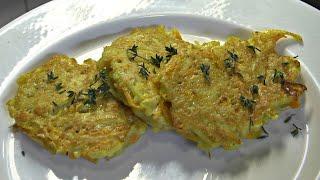 Kartoffel-Kürbis Bratlinge | Rezeptempfehlung als Beilage