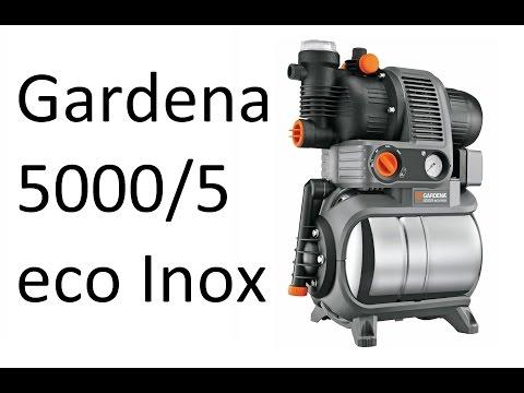 РоботунОбзор: Насосная станция Gardena 5000/5 eco Inox