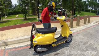 7. Vespa LX150: A very uninformative review